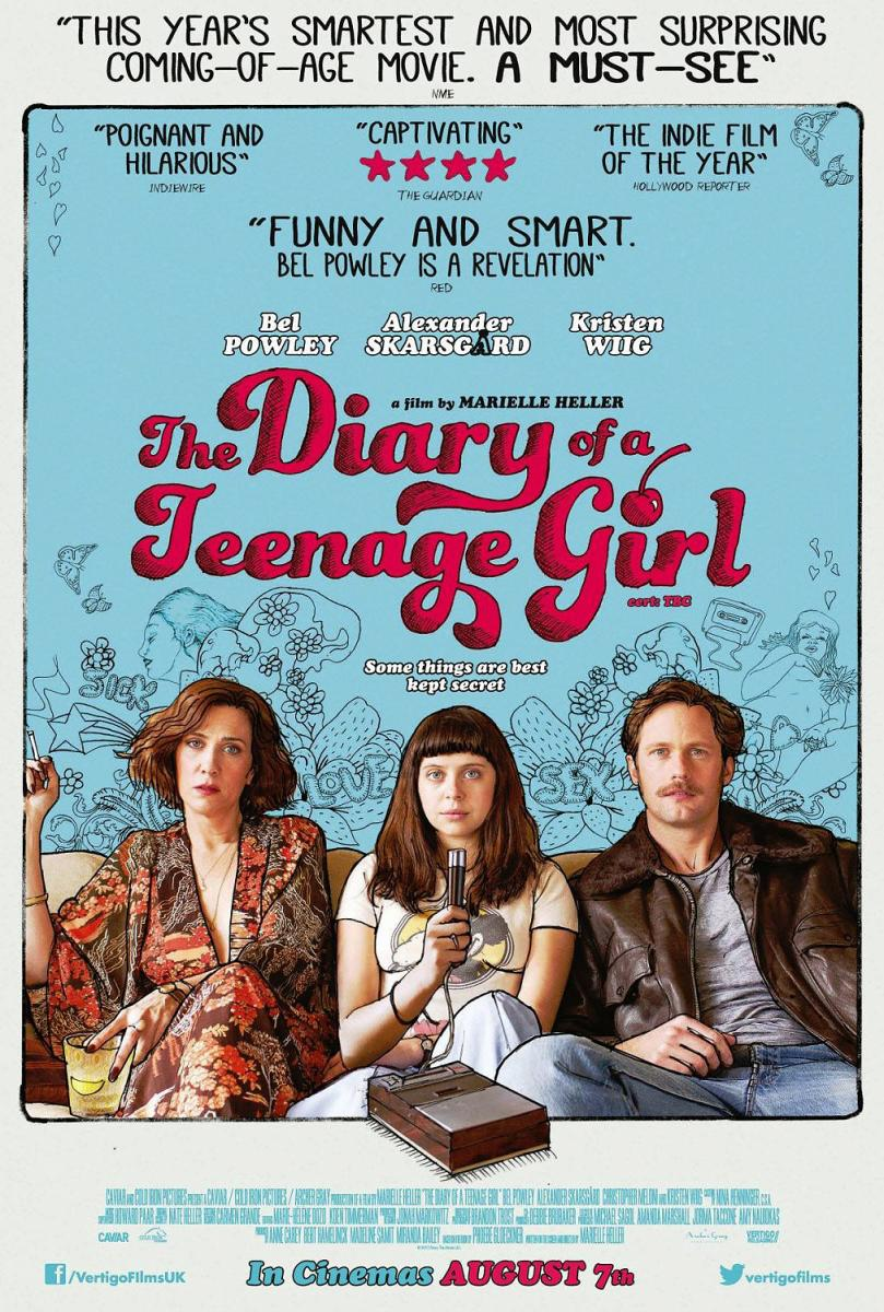 Cartel de The Diary of a Teenage Girl
