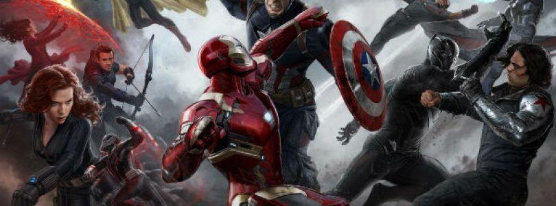 Pósters individuales del #TeamIronMan en 'Capitán América: Civil War'