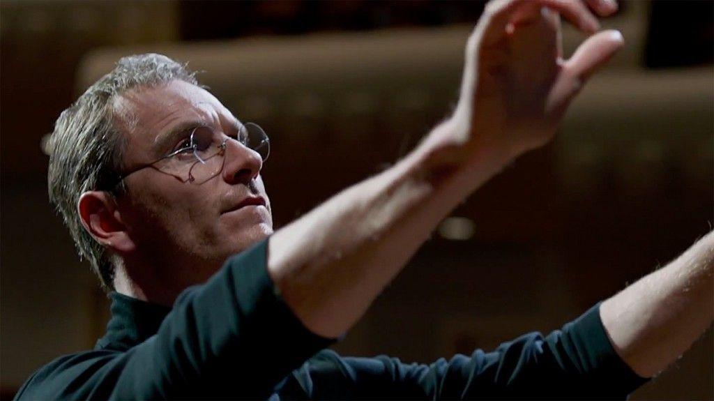 Michael Fassbender como Steve Jobs