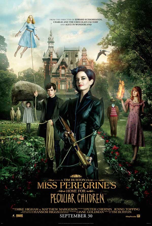 Poster El hogar de Miss Peregrine para niños pecualiares
