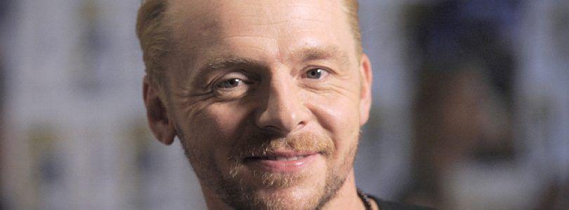 ¿Simon Pegg en lo nuevo de Steven Spielberg?  negocia para protagonizar 'Ready Player One'