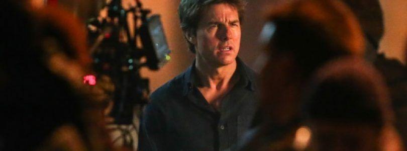 Primeras imágenes de Tom Cruise en el set de rodaje del reboot de 'La Momia'