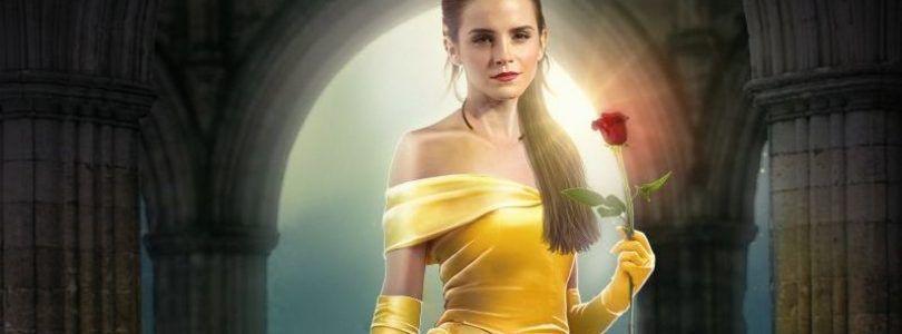 Póster de 'La Bella y la Bestia' de acción real… ¿saldrá Emma Watson?