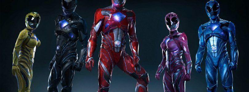 Pósters individuales de los nuevos 'Power Rangers'