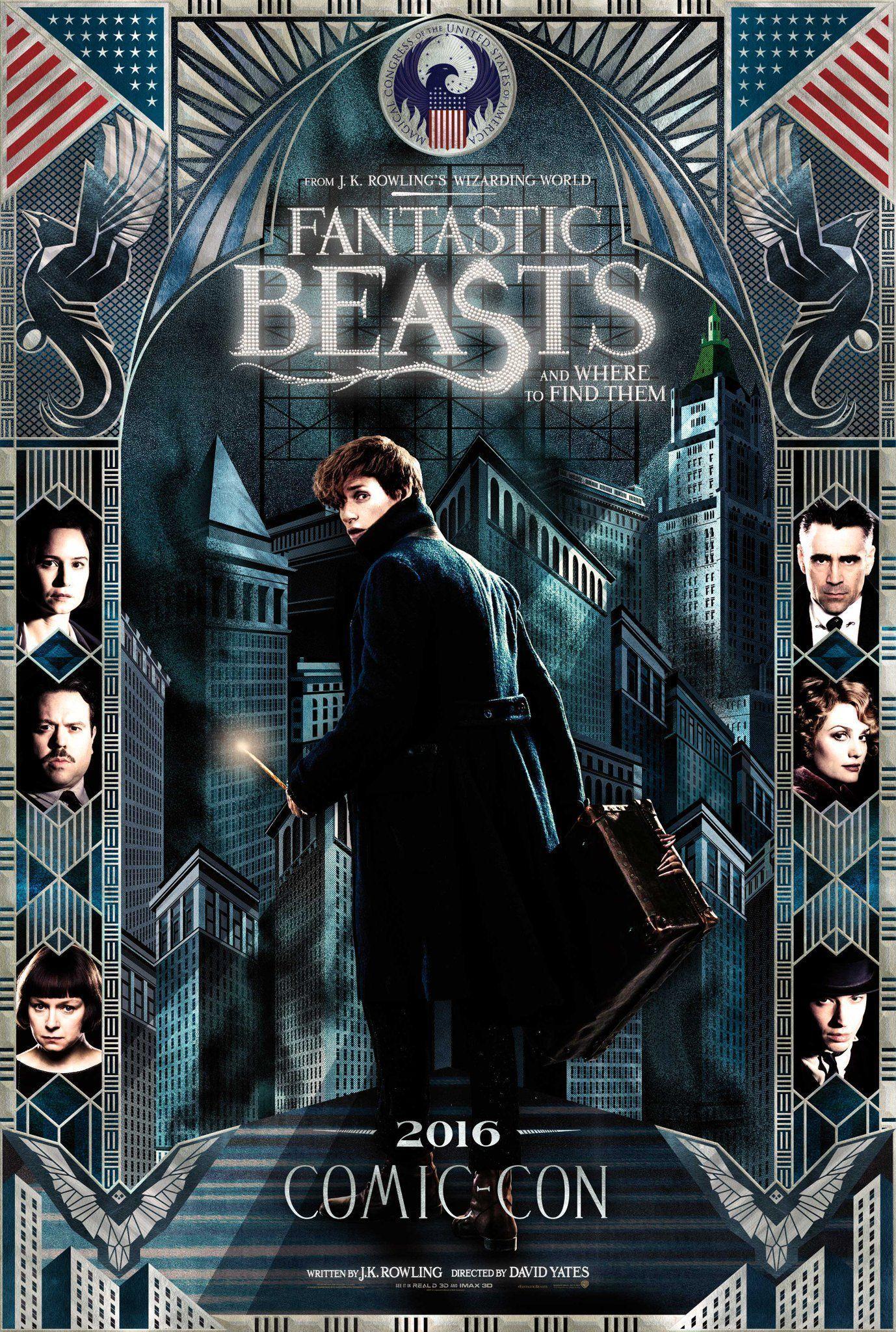 fantastic beast poster - MagaZinema