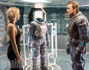 'Passengers': Primer avance del tráiler con Jennifer Lawrence y Chris Pratt besándose