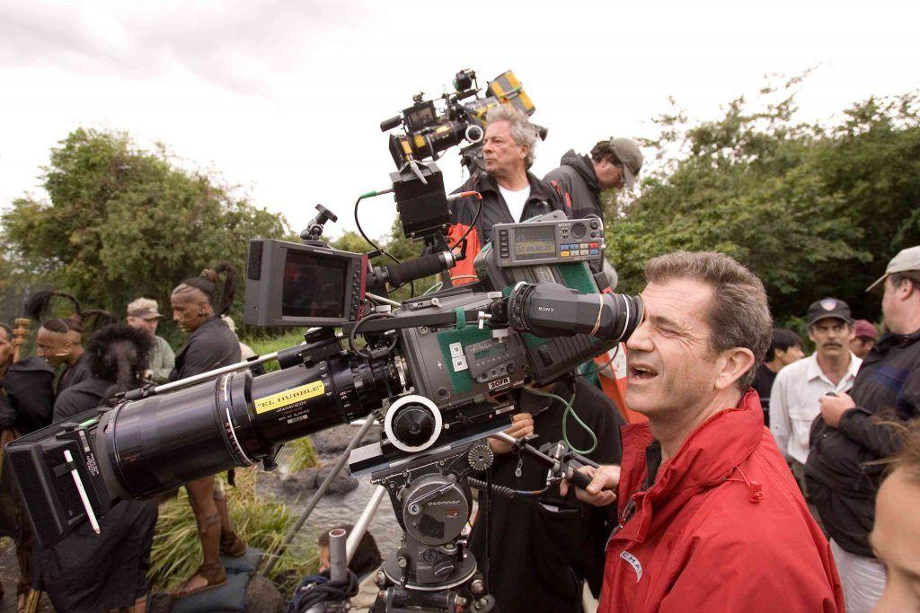 Mel Gibson dirigiendo 'Apocalypto'