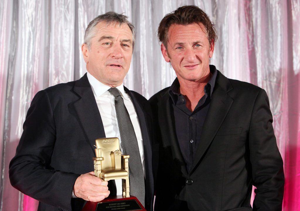 Robert De Niro y Sean Penn en 2010