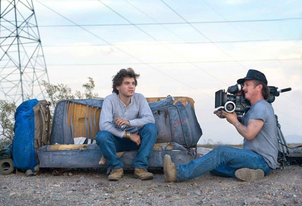 Sean Penn dirigiendo 'Hacia rutas salvajes'