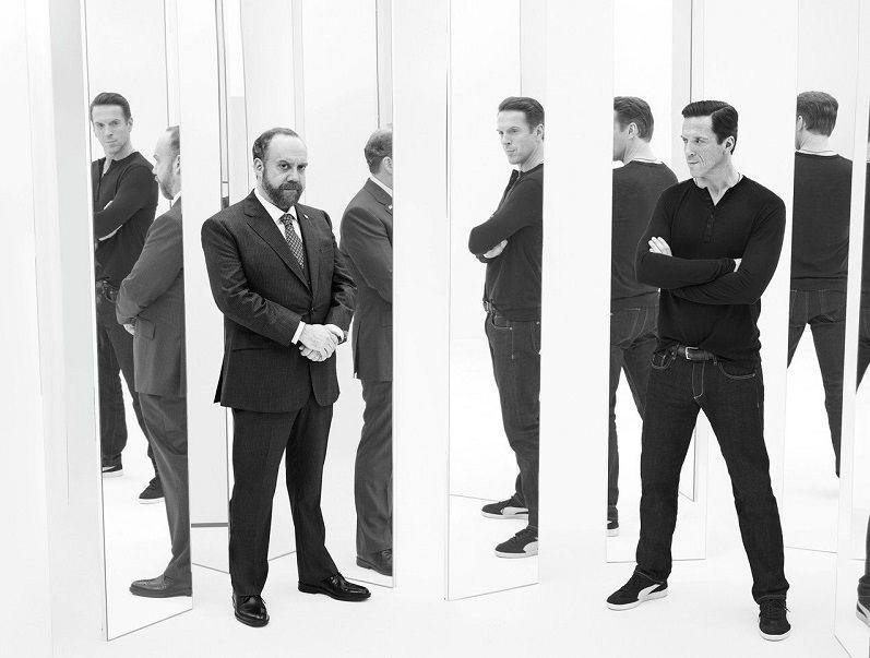 Billions - Paul Giamatti y Damien Lewis