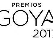 Ganadores Goya 2017