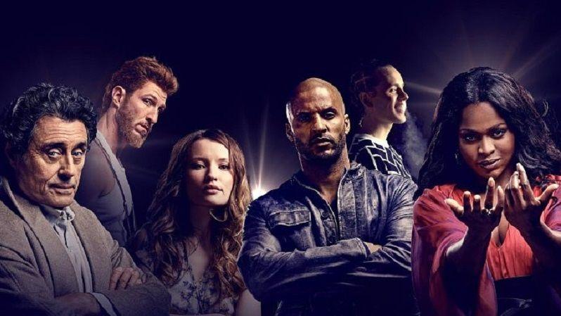 Los personajes protagonistas de 'American Gods' | Imagen cortesía de Entertainment Weekly