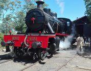 La locomotora Babwil, historia del cine, se deja ver en Guadix
