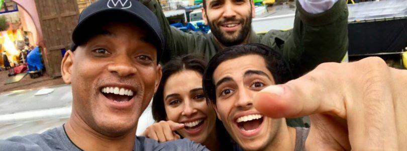 El reparto de 'Aladdin' y comienzo del rodaje