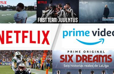 Netflix y Prime Video, donde ver deporte hecho serie