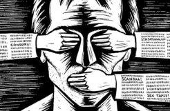 Sobre la nueva censura. Borrar algo como si no hubiera existido