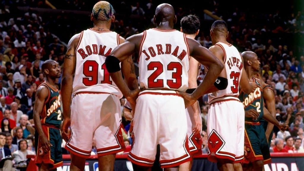 Rodman, Jordan y Pippen, historia clave de los Bulls y de la NBA.