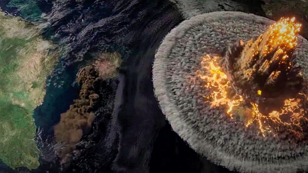 Escena del impacto - 'Greenland'