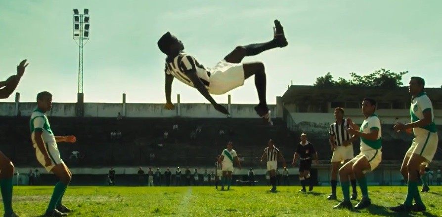 'Pelé, el nacimiento de una leyenda', fotograma de la película.
