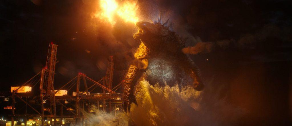 Godzilla en un fotograma de 'Godzilla vs. Kong' | ©Warner Bros Pictures