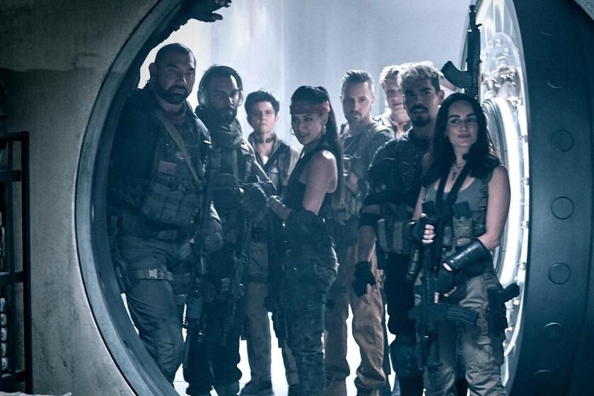El equipo de 'Ejército de los muertos'